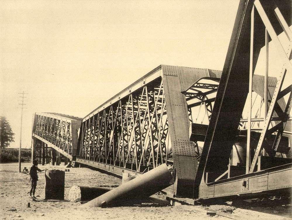XXІІІ. Залізничний міст в Наґара Ґава