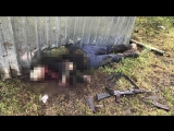 Видео с места нападения на пост ДПС в Ингушетии, 12.05.2017
