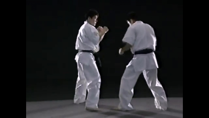 Сокращение дистанции вперед по диагонали ,с уходом от удара ногой .(23) 3.
