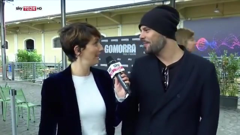 Gomorra 3 presentation Marco D'Amore interview