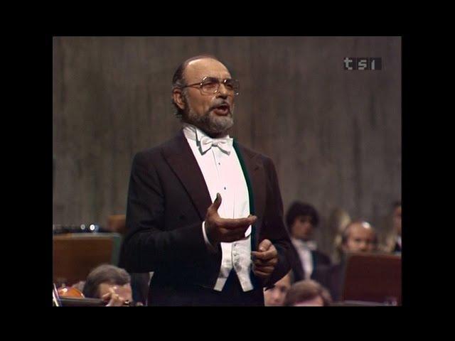 Renato Bruson - Live Concert in Lugano, 1983