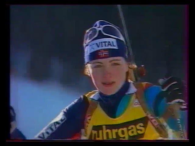 Биатлон-1997. Чемпионат Мира в Осрблье. Спринт. Женщины.