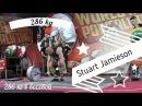 Stuart Jamieson: в весовой до 60 кг потянул 286 кг