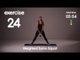 20 min Full Body HIIT Workout - Killer Glutes and Cardio Workout - Level 2