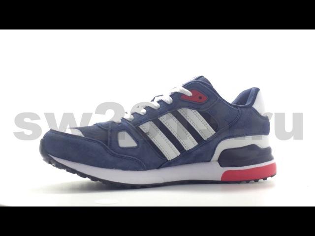 Adidas ZX 750 Blue/Dark Blue/White Mesh Men