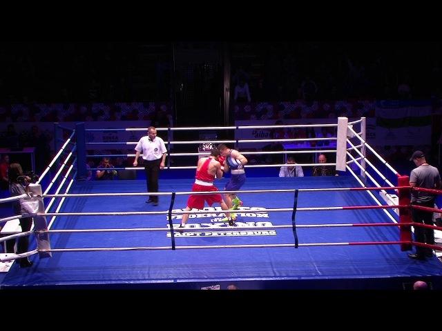 Якубов Зубер (Россия) vs Мадримов Исраил (Узбекистан) 75кг