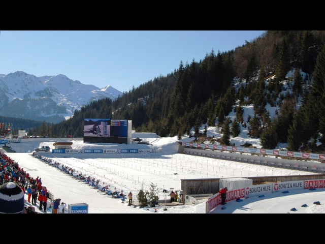 Austria, Hochfilzen. Biathlon World championship. 19 February 2017.
