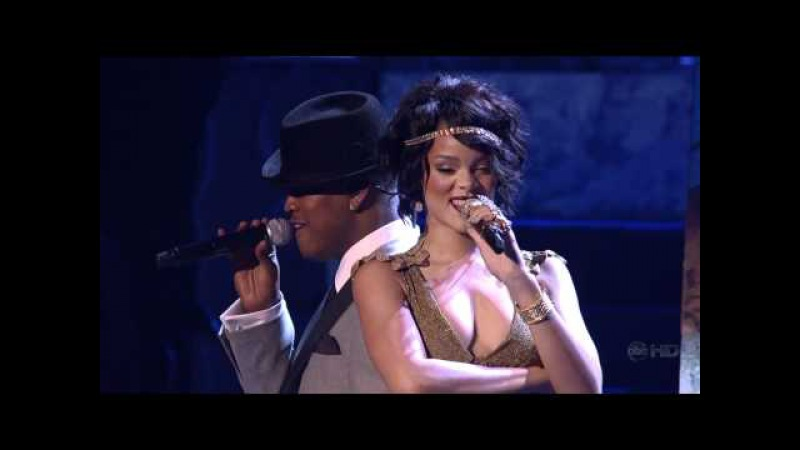 Rihanna Feat Ne Yo Umbrella hate that i love you live @ american music awards 2007 aac5 1 720p