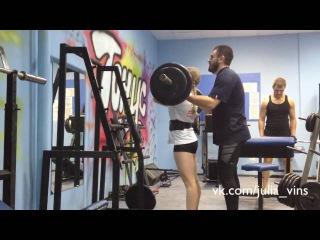 Julia Vins bodybuilding sexiest woman