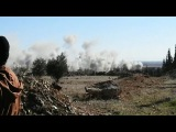 Syria War 2017 - Heavy Russian Syrian Airstrikes On ISIS North Of Aleppo