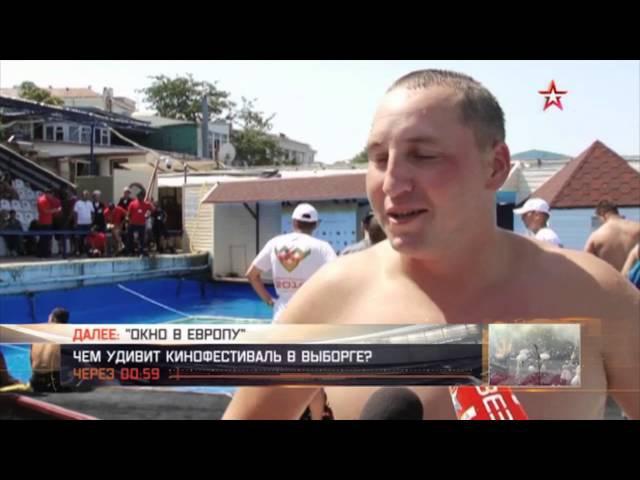 Рукопашная под водой: кадры схватки военных водолазов в Крыму