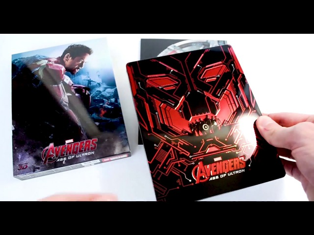 Avengers: Age of Ultron Blu-Ray Edition - NovaMedia Exclusive No.14
