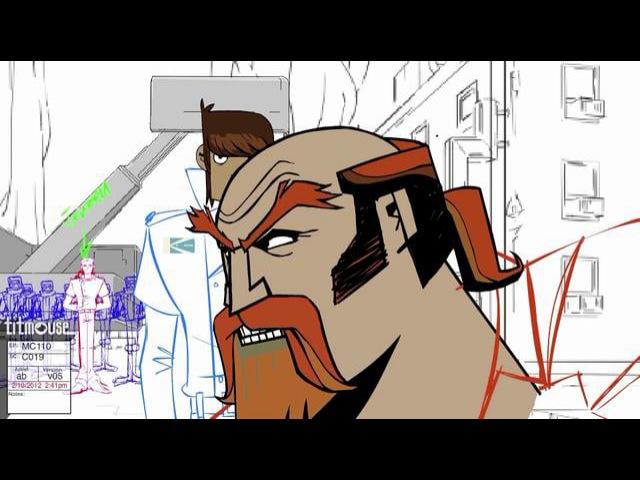 Titmouse's Motorcity - Rough Animation