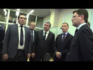 Министр энергетики РФ Александр Новак в «Ленэнерго»