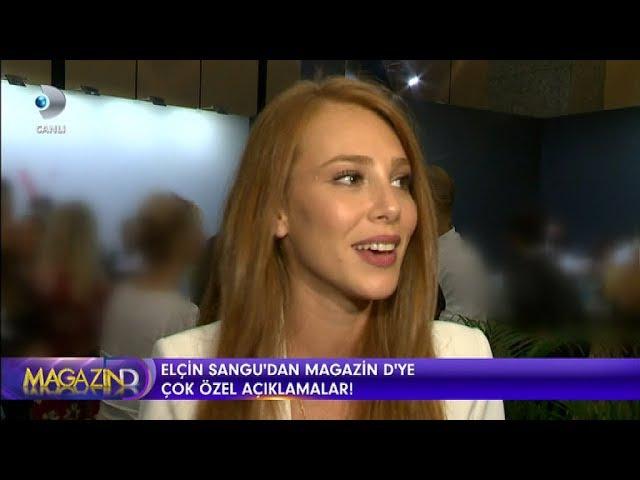 Elçin Sangu Magazin D 14 Eylül 2017
