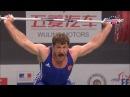 Khadzhimurat Akkaev v Dimitry Klokov at 2011 World Weightlifting Championships