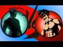 Shadow Fight 2 БИТВА С ТЕНЬЮ 3 ПОЕДИНОК С БЕЗУМЦЕМ Трикстер Мультик игра КРУТИЛКИНЫ