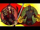 Мультик игра Shadow Fight 2 Бой с тенью 31 Капитан Вулкан Тесак Вор Белка Вихрь Циганка КРУТИЛКИНЫ