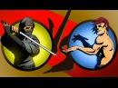 Shadow Fight 2 Бой с тенью 4 - Игла, Жало, Шутница, Призрак, Изверг, Бархат, Железный и Трикстер
