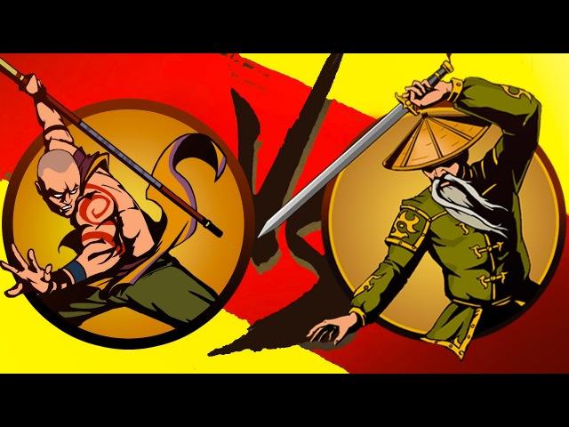 Shadow Fight 2 Бой с тенью 12 ОТШЕЛЬНИК Змей Чертовка Игровой мультик КРУТИЛКИНЫ