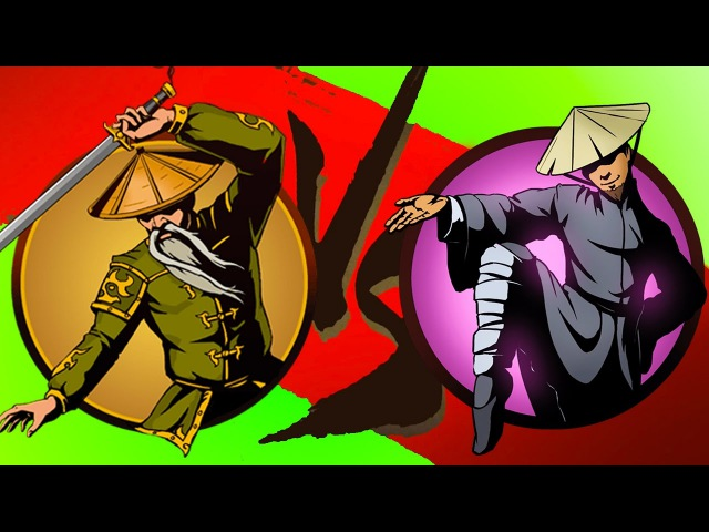 Мультик Игра Shadow Fight 2 Бой с тенью 12 Журавль Ниндзя Отшельник КРУТИЛКИНЫ
