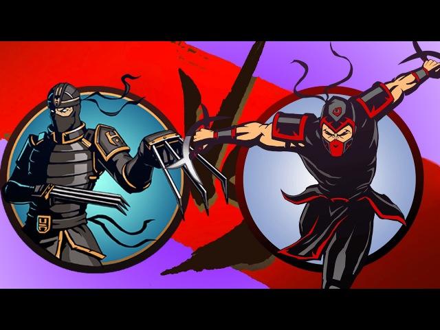 Shadow Fight 2 Бой с тенью 10 Рысь Утес Разбойник Изверг Игла Призрак Щеголь Игровой мультик KID