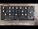 EXPLAINED Improvisation No. 1 - Moog Mother-32