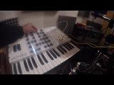 0 Coast, Moog Mother 32, Telemark-K, Erebus - Sequencing Semi-modular synths