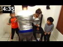 MOM SON VS MOM SON DUCT TAPE CHALLENGE