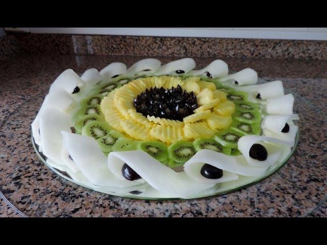 HOW TO MAKE A FRUIT CENTER «NEW IDEA» By J Pereira Art Carving Fruit