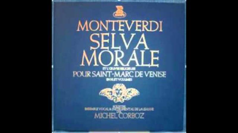 MONTEVERDI Selva Morale e Spirituale Michel Corboz LP