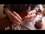Резьба по дереву. Урок 1 Роза как вырезать сердцевину бутона Carving a wooden rose