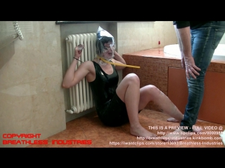 Numa In Panic At Her First Breathplay Experience - PREVIEW