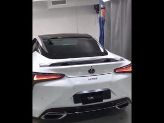 Новая модель Lexus LC500