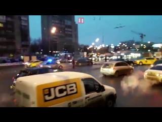 ДТП с авто Минобороны в центре Москвы
