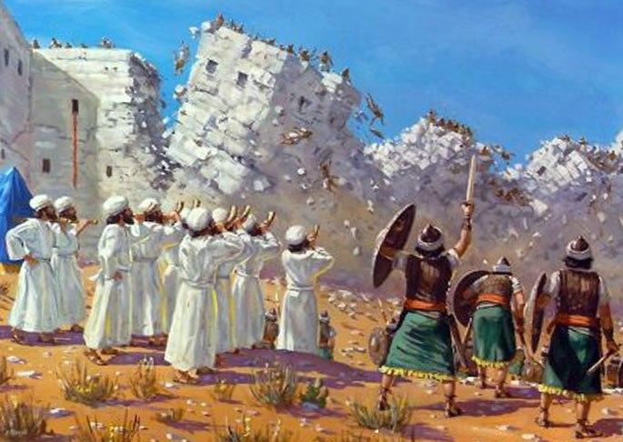 Осада Иерихона и еврейская армия