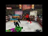 Халк и Красный Халк (с Женщиной-Халк) против Венома и Карнеджа