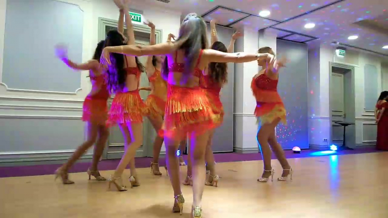 Dancing Queens salsa NY lady style Kazan Intarnational Festival 2017