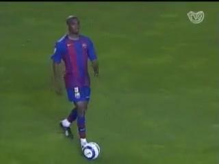 (Temporada 2004 - 05) Partido Completo Jornada 29- Deportivo - Barcelona (19-03-2005)