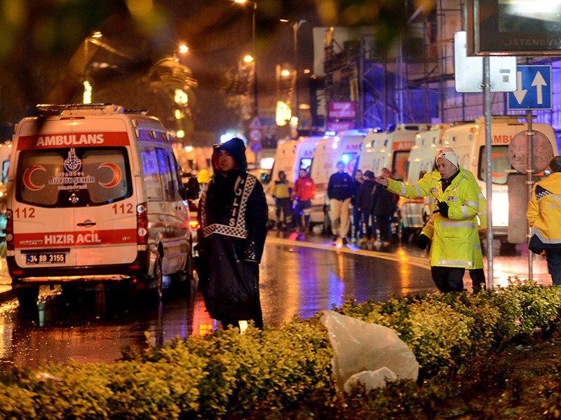 Нападение на ночной клуб в Стамбуле: 39 погибших