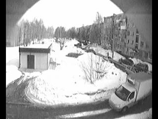 Наезд на Авто во дворе дома Ленина 60/1 Кирово-Чепецк