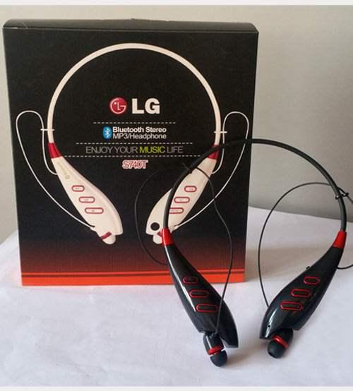 Беспроводная стерео-гарнитура LG Tone Ultra 740t функциональная и недорогая