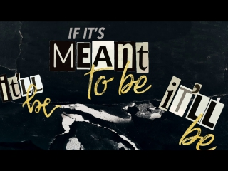 Премьера. Bebe Rexha & Florida Georgia Line - Meant To Be (Lyric Video)