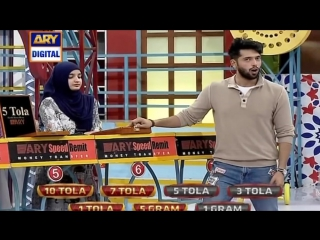 watch What Girl Said In Live Show To Fahad Mustafa....!