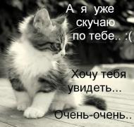 Я ОЧЕНЬ ПО ТЕБЕ СКУЧАЮ...  ТЫ МНЕ СНИШЬСЯ...