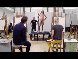 Самому сделать секс парень рисует голую подругу видео крашенные блондинки эротика