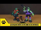 TMNT Nickelodeon, Черепашки-ниндзя от Playmates toys / высокотехнологичные Раф и Донни