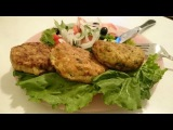 Рыбные котлеты Рецепт с кабачком как приготовить блюдо вкусно пошагово ужин дом...
