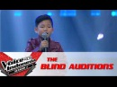 Gilbert Be-Bop-A-Lula | The Blind Auditions | The Voice Kids Indonesia Season 2 GTV 2017