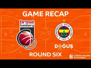 Highlights: Brose Bamberg - Fenerbahce Dogus Istanbul